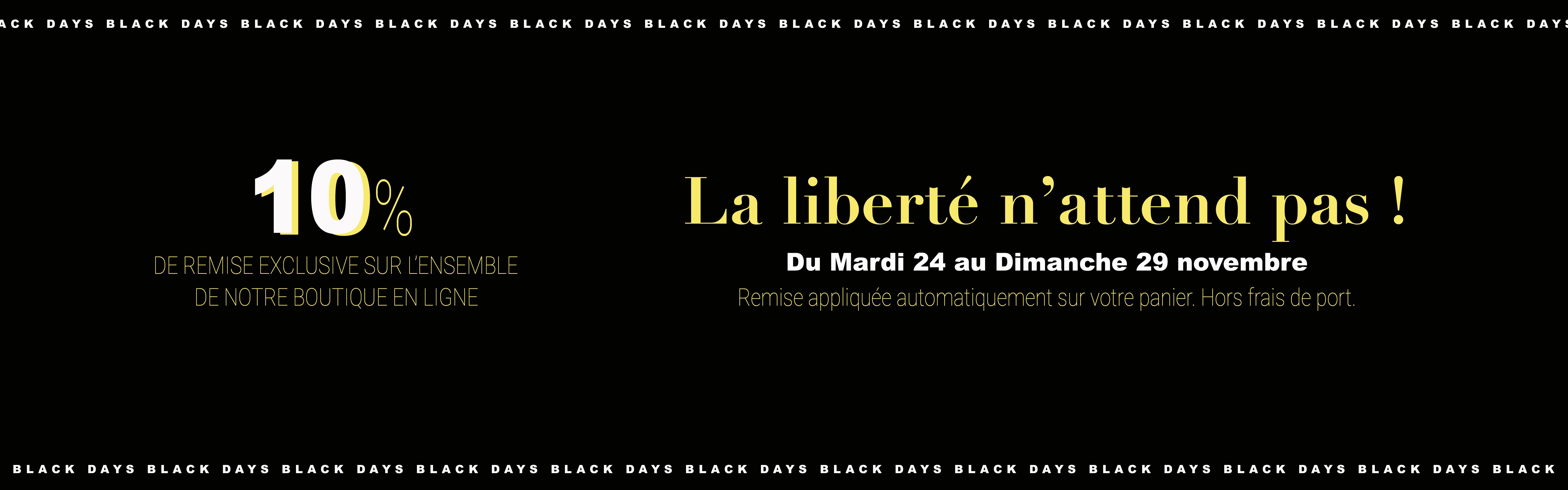 BLACK DAYS 2020